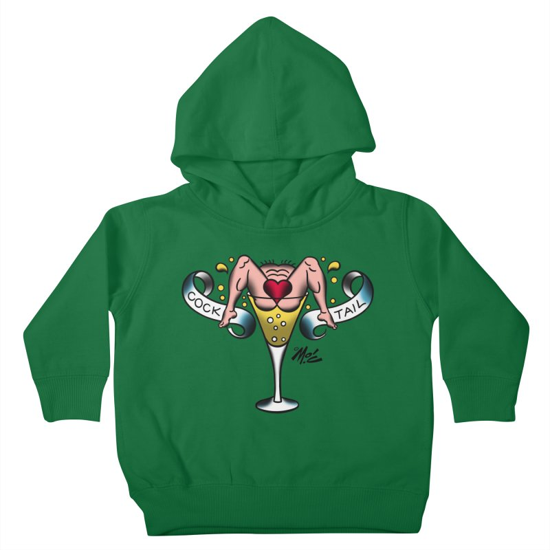 "Beefcake Buddies- ""Cock Tail""! Kids Toddler Pullover Hoody by Mitch O'Connell"
