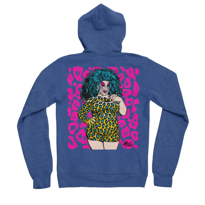 Divine! Women's Sponge Fleece Zip-Up Hoody by Mitch O'Connell