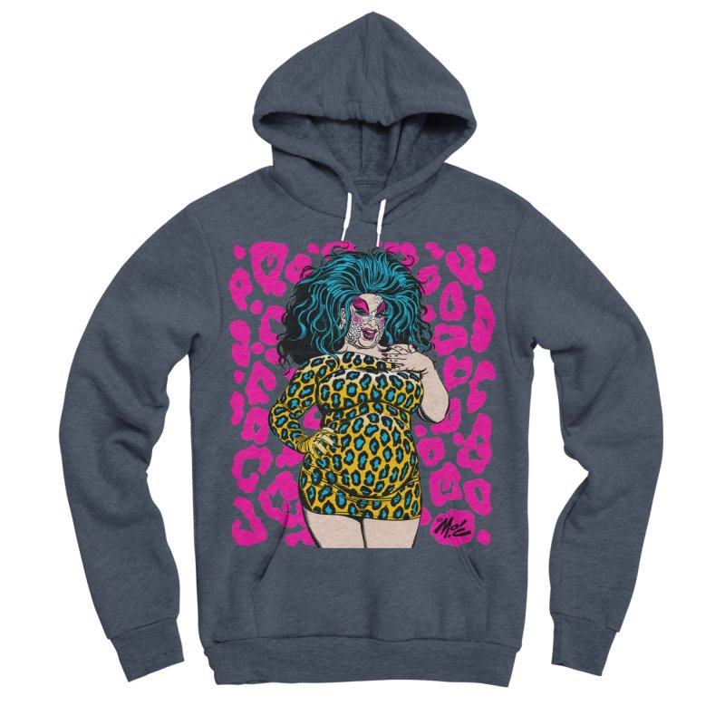 Divine! Men's Sponge Fleece Pullover Hoody by Mitch O'Connell