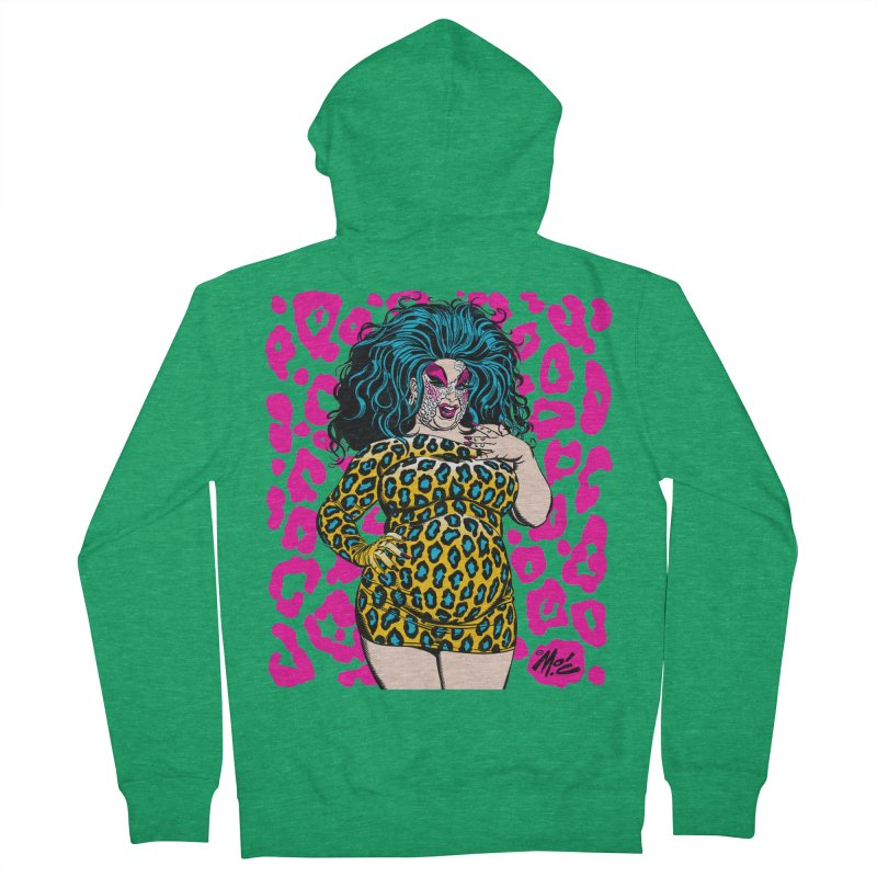 Divine! Women's Zip-Up Hoody by Mitch O'Connell