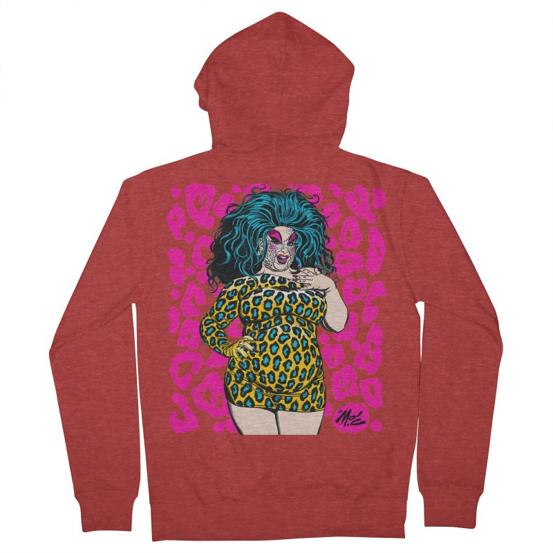 Divine! Women's French Terry Zip-Up Hoody by Mitch O'Connell