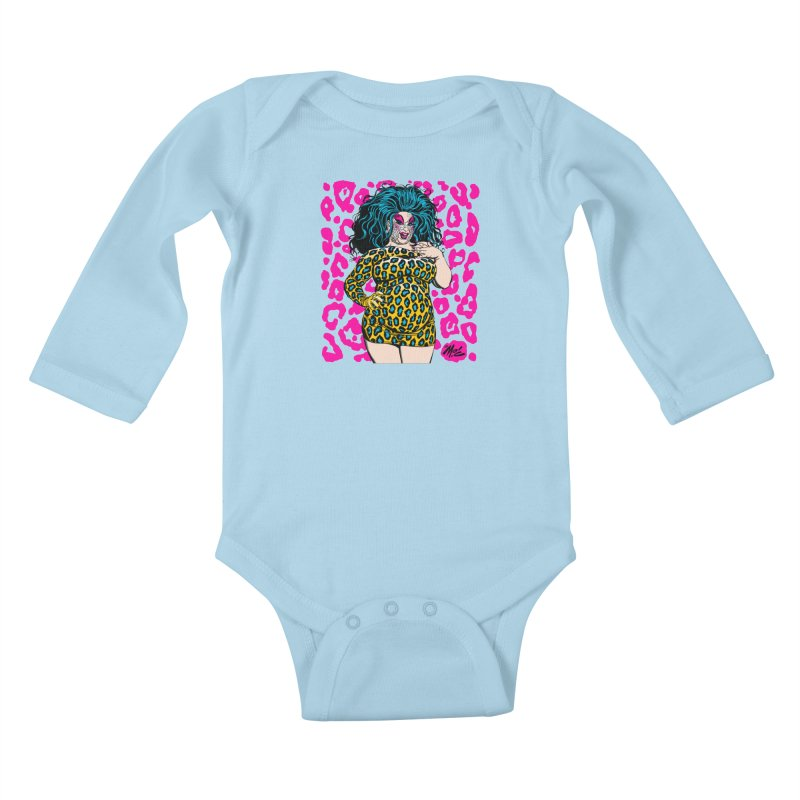 Divine! Kids Baby Longsleeve Bodysuit by Mitch O'Connell