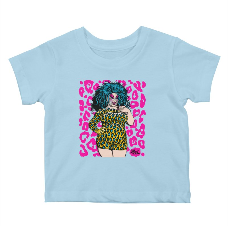 Divine! Kids Baby T-Shirt by Mitch O'Connell