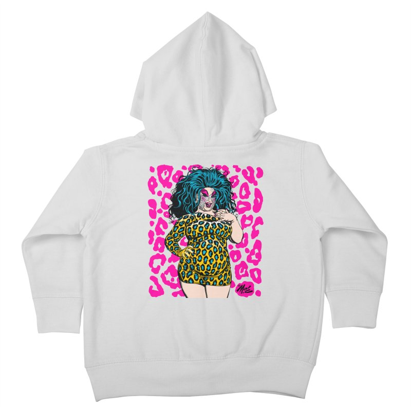 Divine! Kids Toddler Zip-Up Hoody by Mitch O'Connell