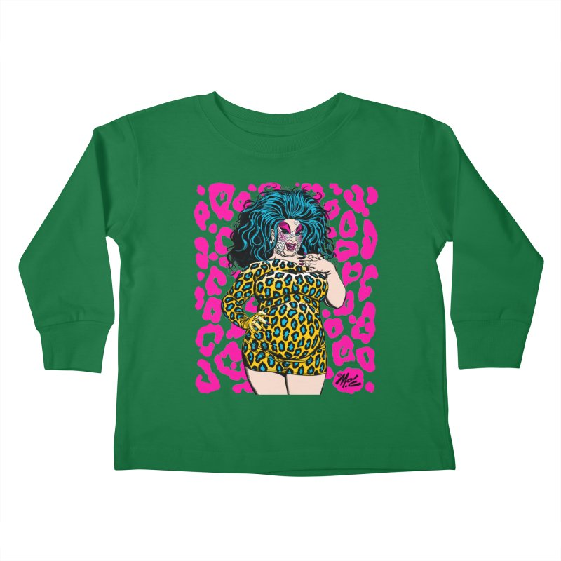 Divine! Kids Toddler Longsleeve T-Shirt by Mitch O'Connell