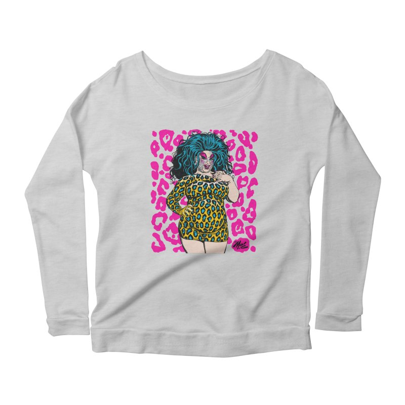 Divine! Women's Scoop Neck Longsleeve T-Shirt by Mitch O'Connell