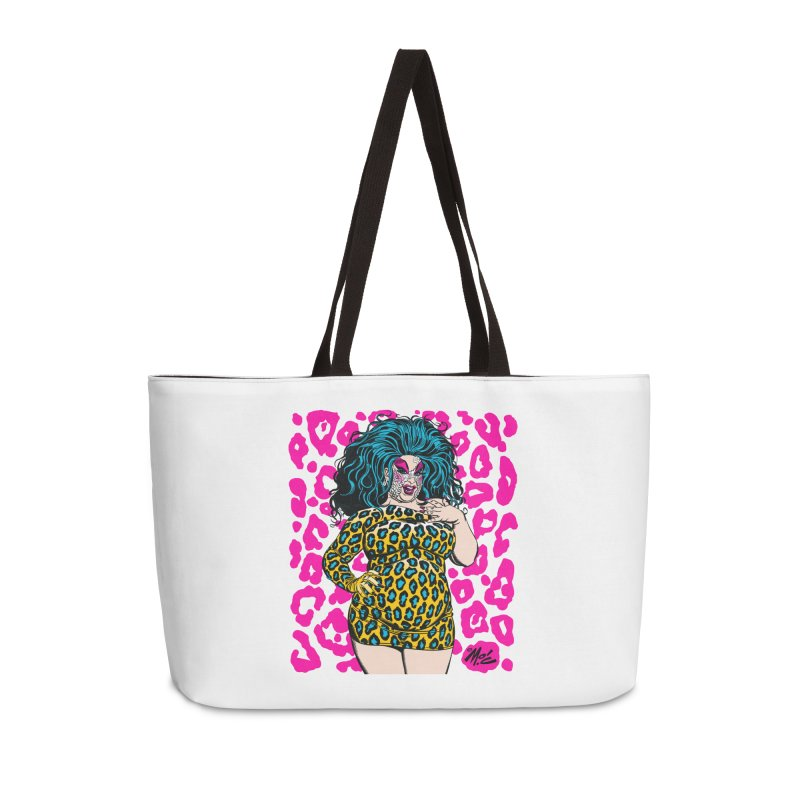 Divine! Accessories Weekender Bag Bag by Mitch O'Connell