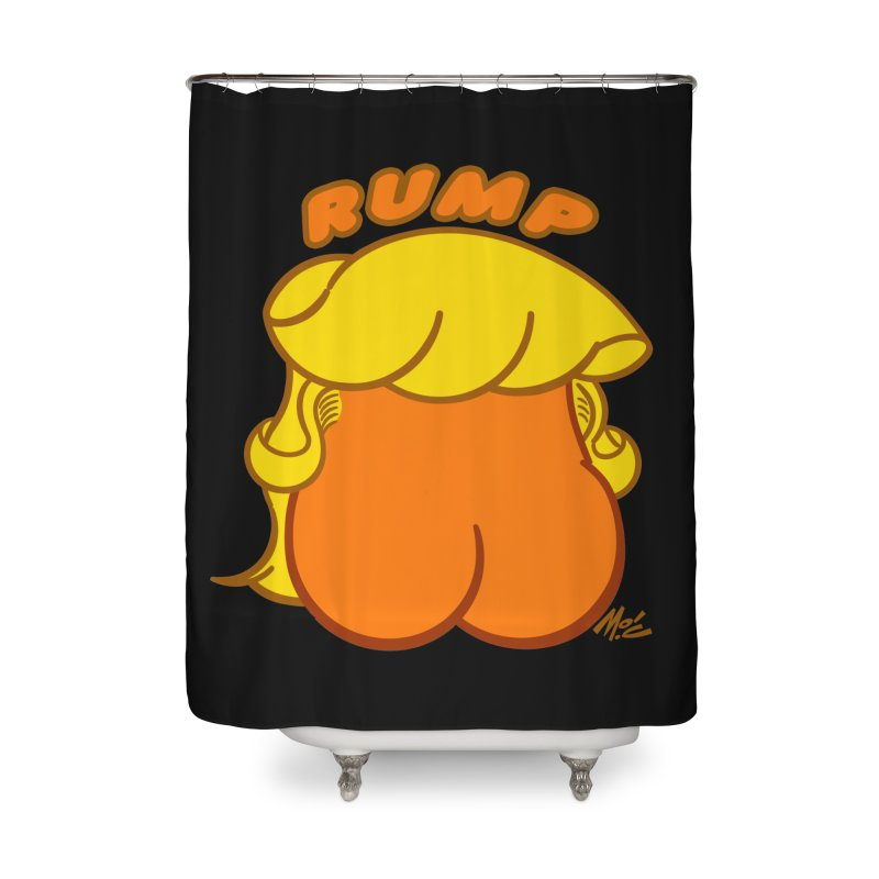RUMP Home Shower Curtain by Mitch O'Connell