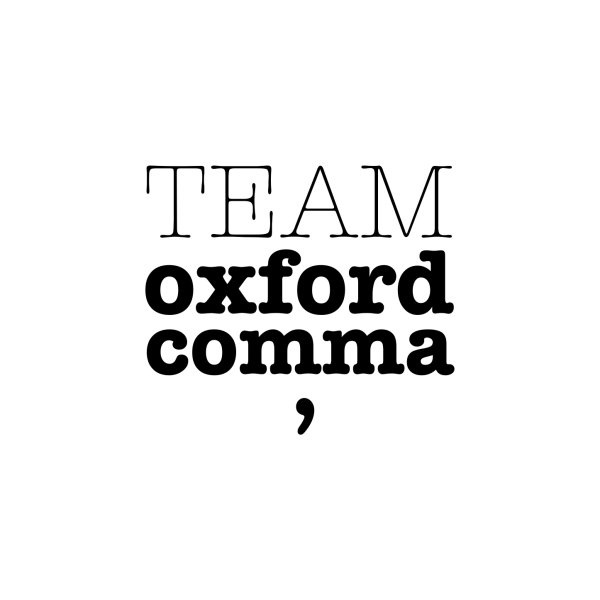 image for Team Oxford Comma
