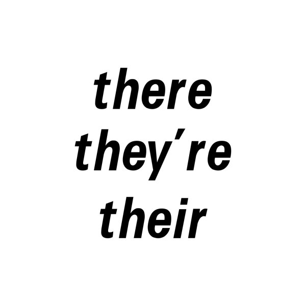 image for there they're their