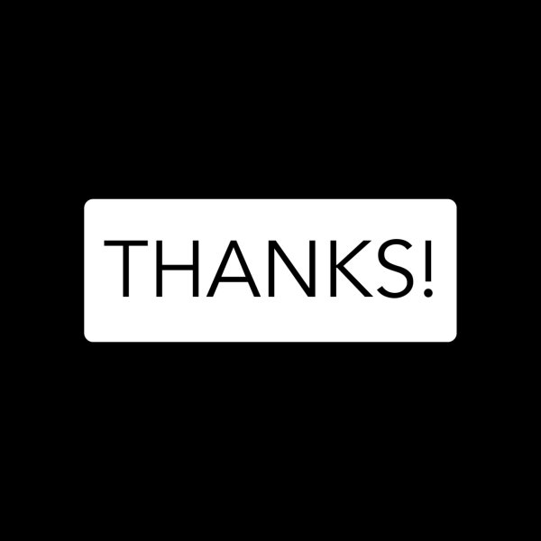 image for Thanks!