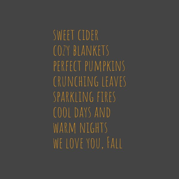 image for We Love You, Fall