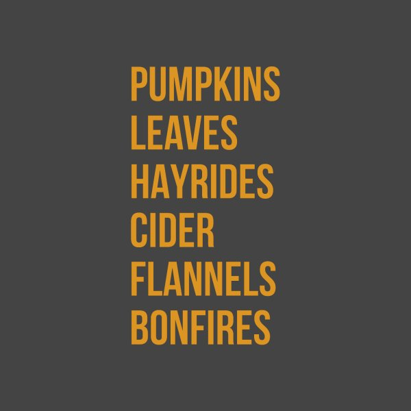 image for Fall Favorites