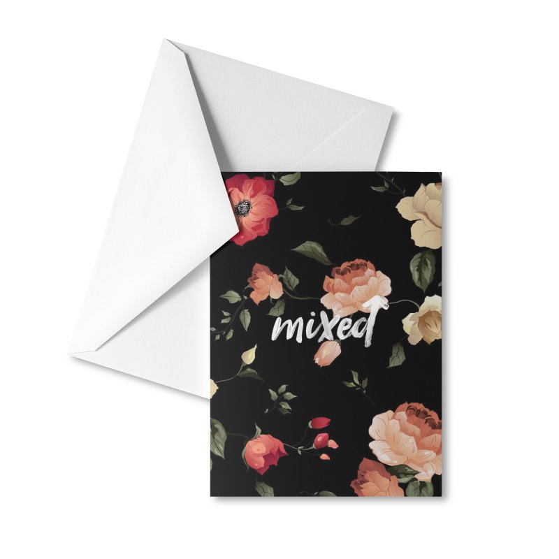Mixed Up Floral Accessories Greeting Card by MixedUp