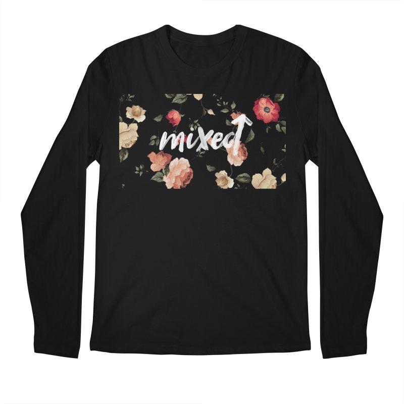 Mixed Up Floral Men's Longsleeve T-Shirt by MixedUp
