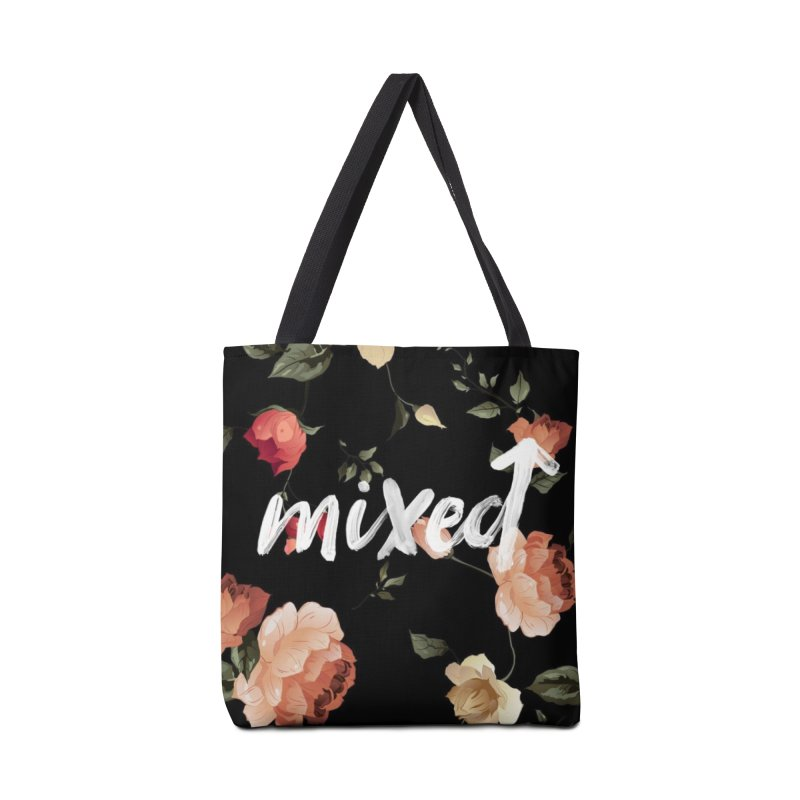 Mixed Up Floral Accessories Bag by MixedUp