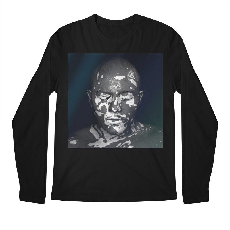 MixedUp Mottled Face Men's Longsleeve T-Shirt by MixedUp
