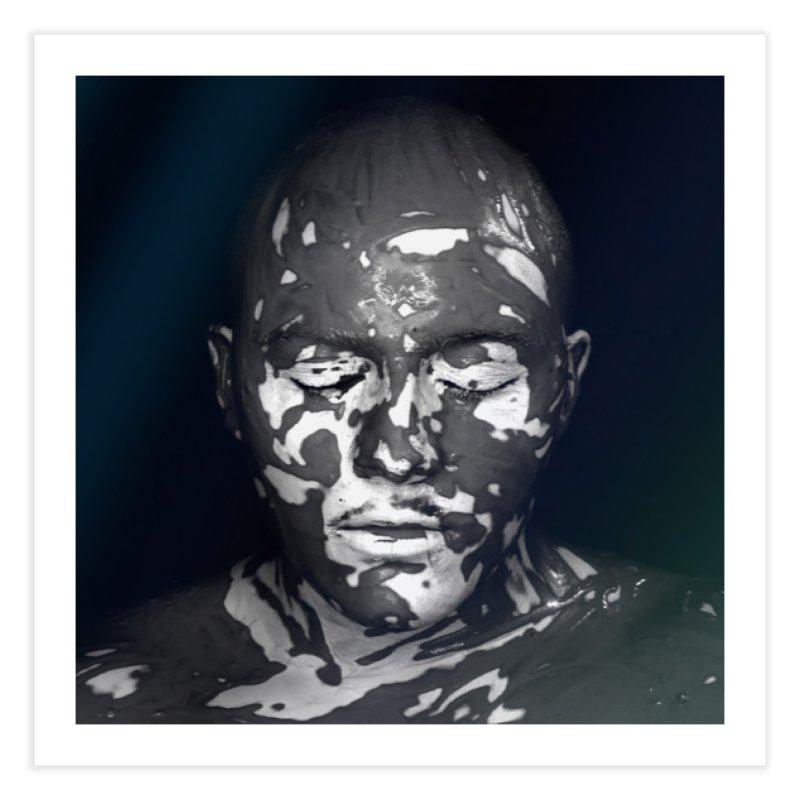 MixedUp Mottled Face Art Fine Art Print by MixedUp
