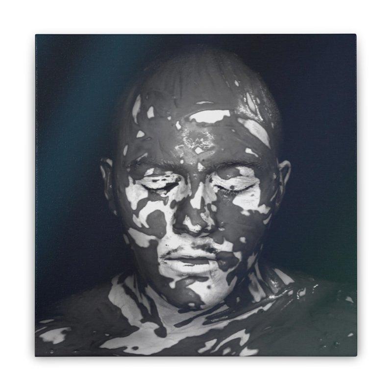 MixedUp Mottled Face Art Stretched Canvas by MixedUp