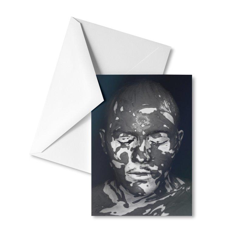 MixedUp Mottled Face Accessories Greeting Card by MixedUp