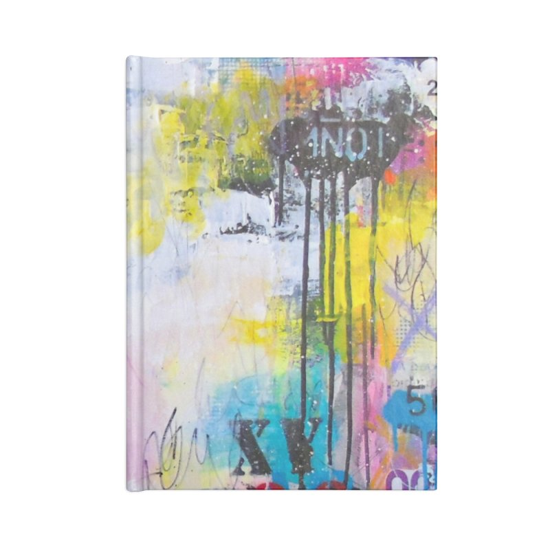 Trash Beautiful Accessories Blank Journal Notebook by Lorette C. Luzajic Journals