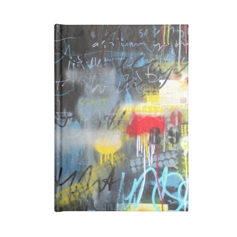 Always Crashing the Same Car Accessories Blank Journal Notebook by Lorette C. Luzajic Journals