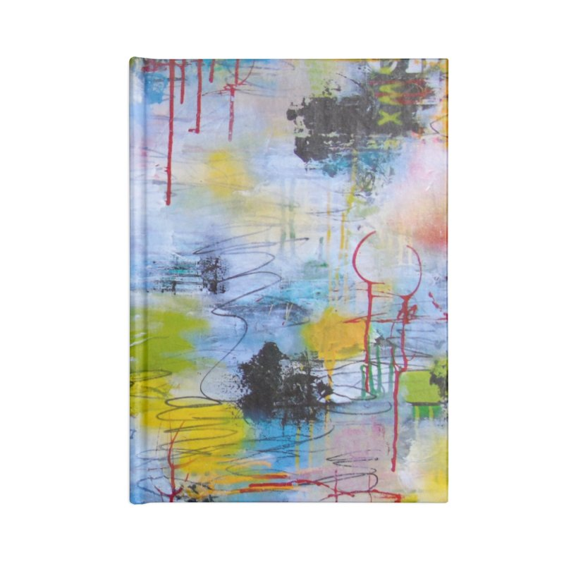 The Reflecting Pool Accessories Blank Journal Notebook by Lorette C. Luzajic Journals