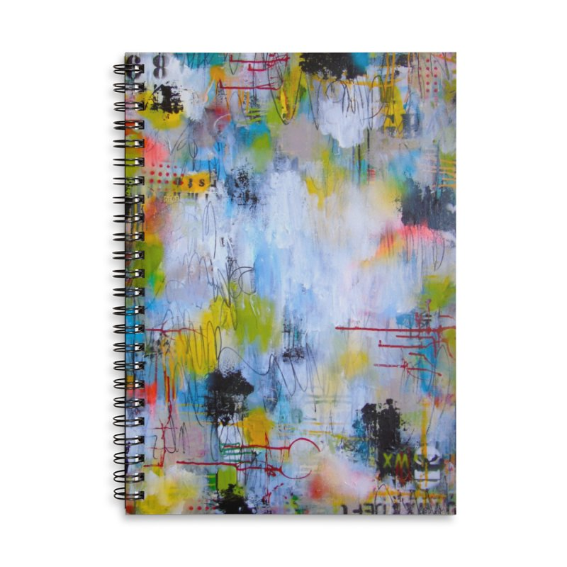 The Reflecting Pool Accessories Notebook by Mixed Up Media by Lorette C. Luzajic