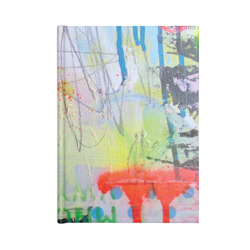 Neon Thunder Accessories Blank Journal Notebook by Lorette C. Luzajic Journals