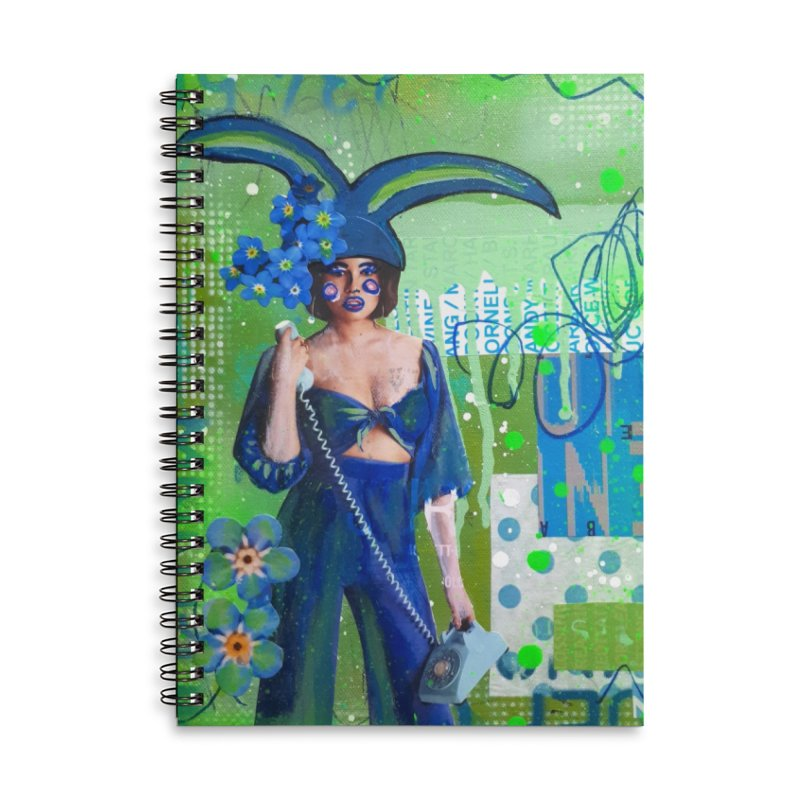 Call Me Accessories Notebook by Lorette C. Luzajic Journals
