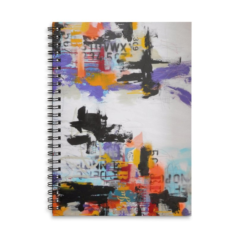 The Last Time I Showed Up at Midnight Accessories Lined Spiral Notebook by Lorette C. Luzajic Journals