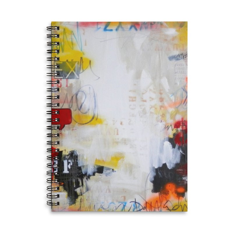 The Answer's in the Question Accessories Lined Spiral Notebook by Lorette C. Luzajic Journals