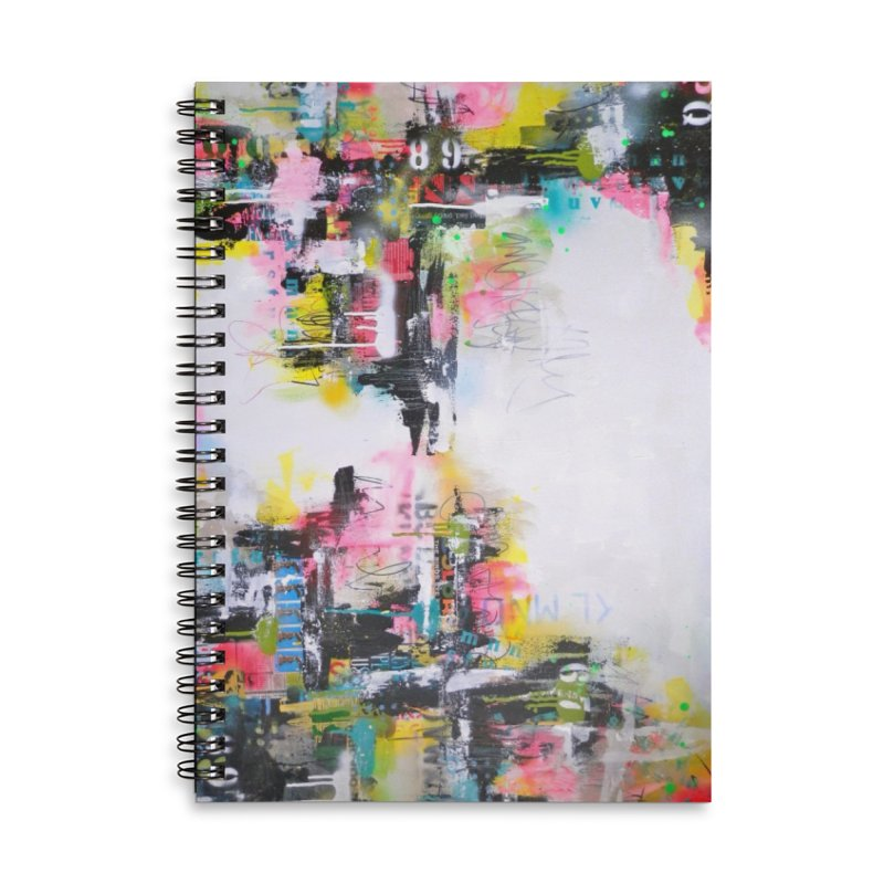 This Little Light of Mine Accessories Lined Spiral Notebook by Lorette C. Luzajic Journals