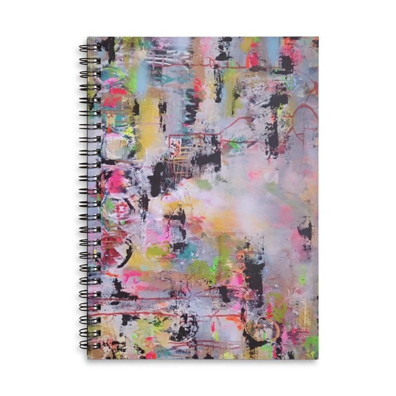 Place Me Like a Seal Over Your Heart Accessories Lined Spiral Notebook by Lorette C. Luzajic Journals