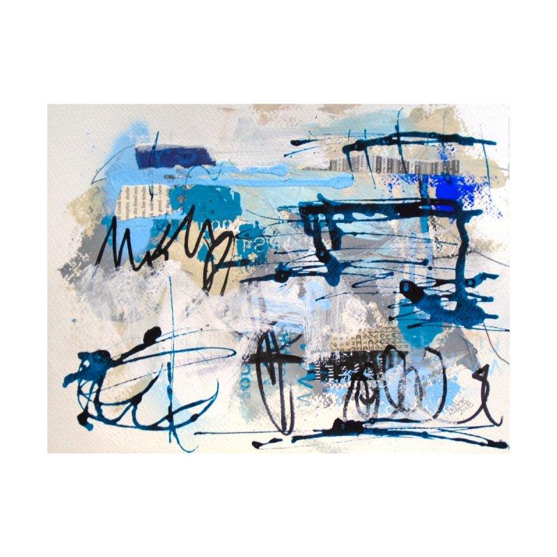 Black and Blue Haiku 9 by Lorette C. Luzajic Journals
