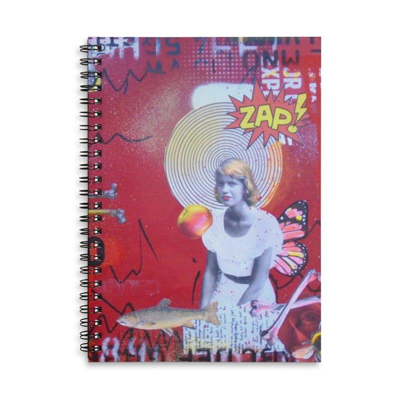 Lady Lazarus- Sylvia Plath notebook Accessories Notebook by Lorette C. Luzajic Journals