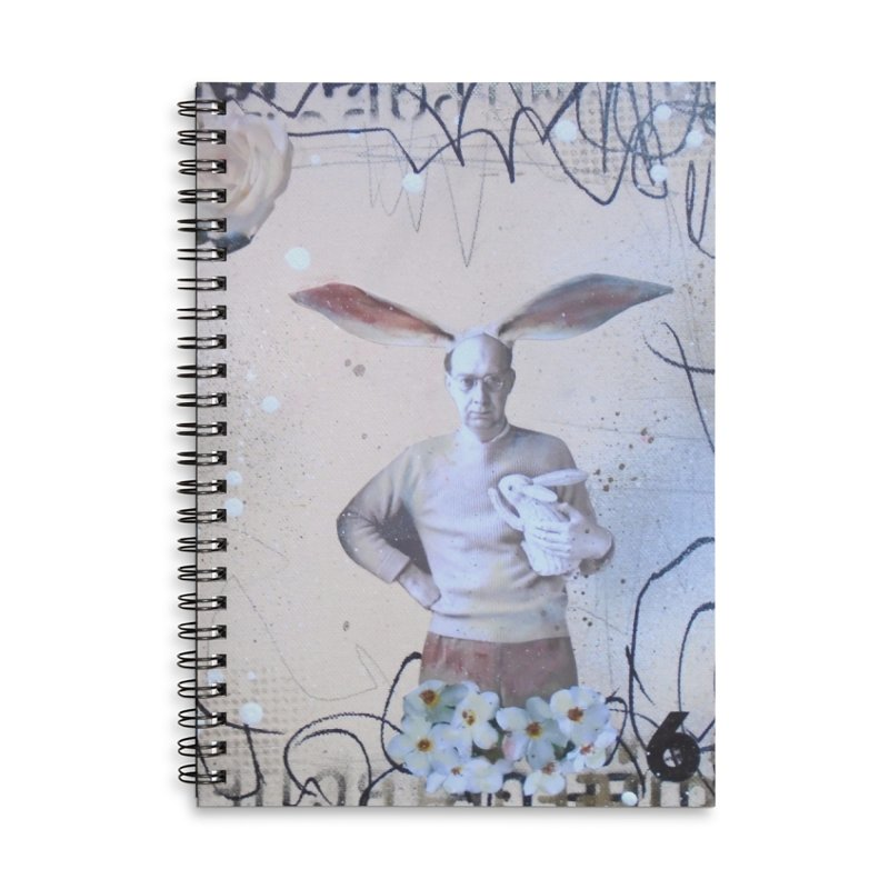 They F* You Up Accessories Lined Spiral Notebook by Lorette C. Luzajic Journals