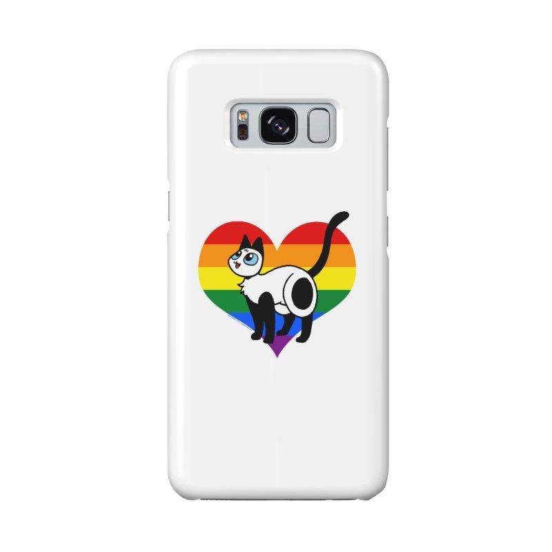 Rainbow Frankie Accessories Phone Case by Mixtape Comics