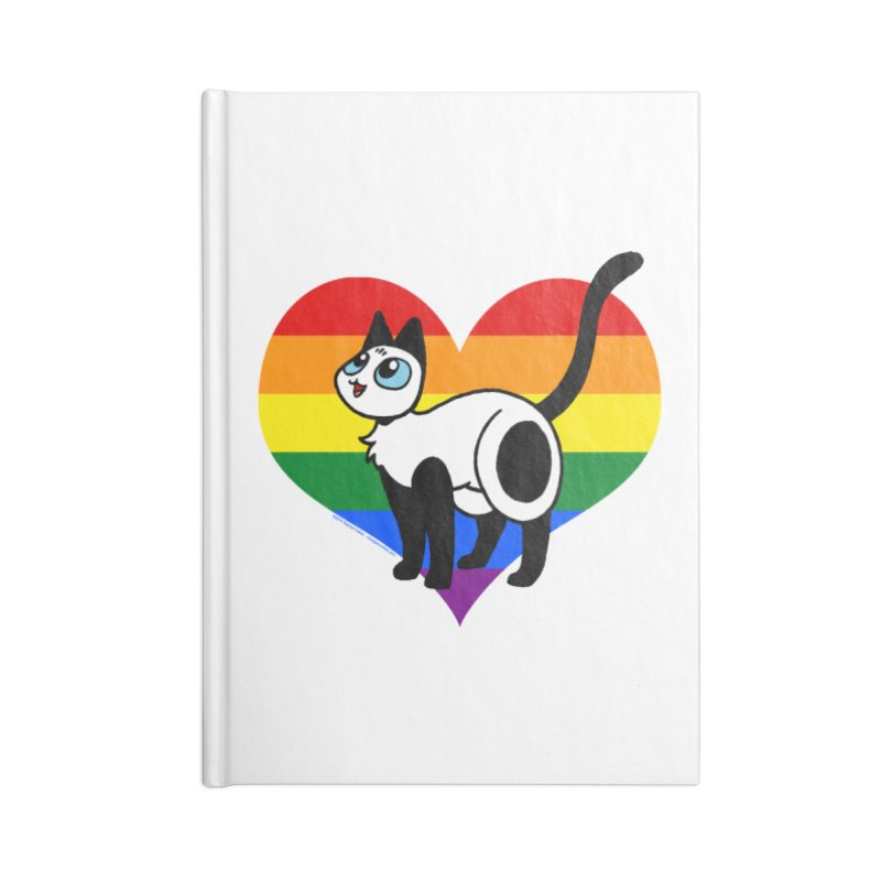 Rainbow Frankie Accessories Lined Journal Notebook by Mixtape Comics