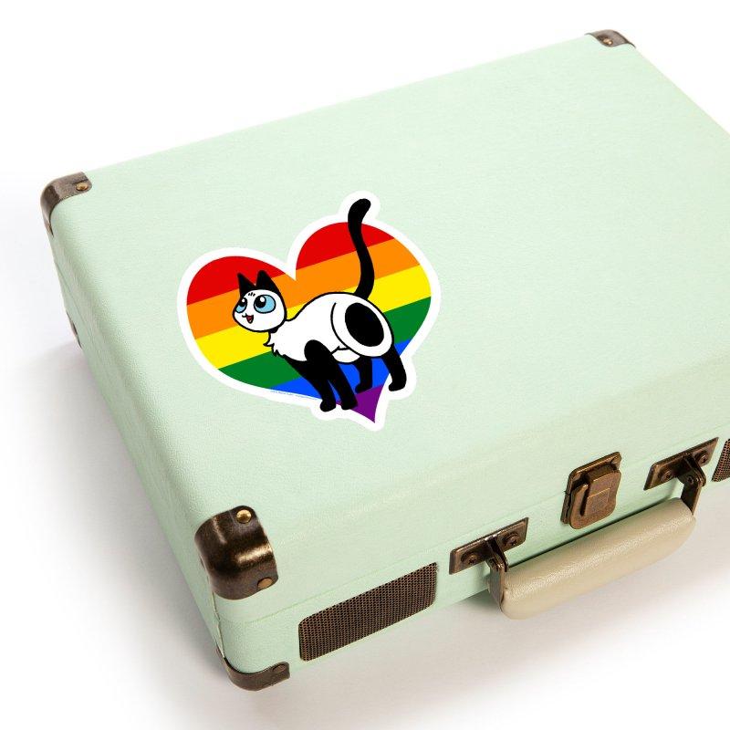 Rainbow Frankie Accessories Sticker by Mixtape Comics