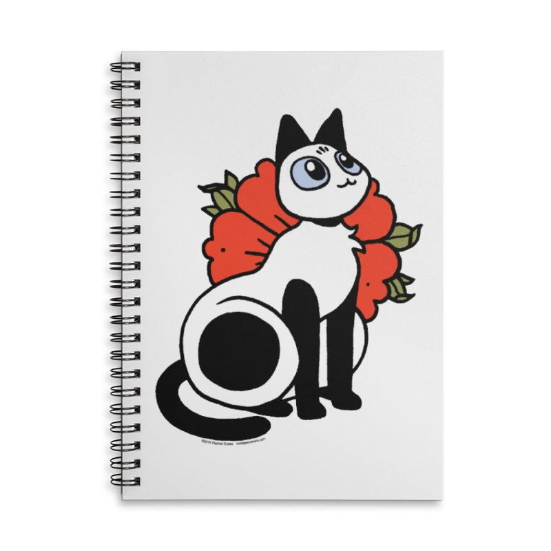 Flower Frankie Accessories Lined Spiral Notebook by Mixtape Comics