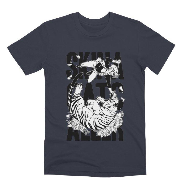 Skin a Catcaller (Black Text) Men's Premium T-Shirt by Mixtape Comics