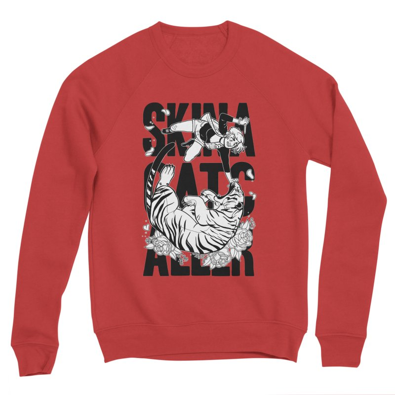 Skin a Catcaller (Black Text) Women's Sponge Fleece Sweatshirt by Mixtape Comics