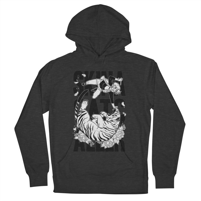 Skin a Catcaller (Black Text) Men's French Terry Pullover Hoody by Mixtape Comics