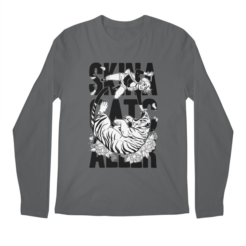 Skin a Catcaller (Black Text) Men's Longsleeve T-Shirt by Mixtape Comics