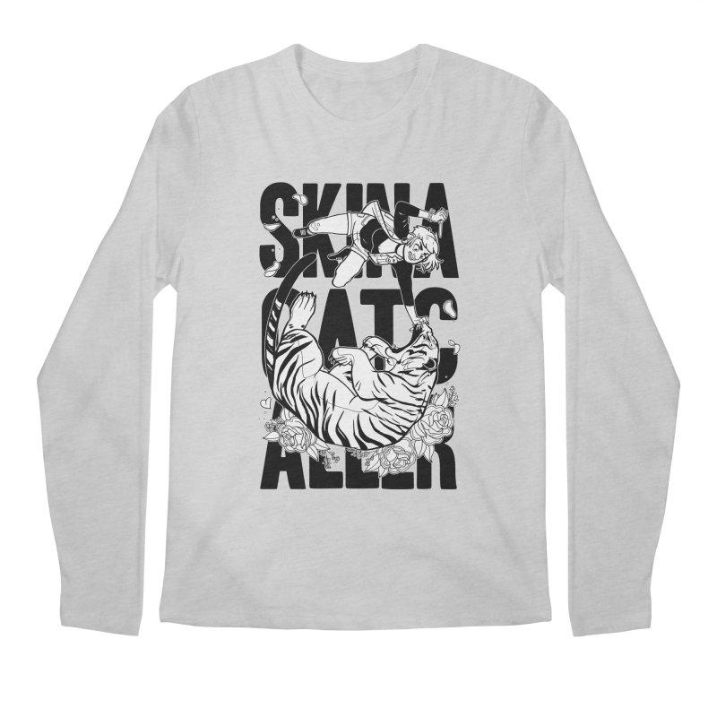 Skin a Catcaller (Black Text) Men's Regular Longsleeve T-Shirt by Mixtape Comics