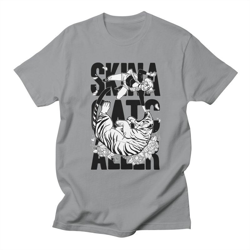 Skin a Catcaller (Black Text) Men's Regular T-Shirt by Mixtape Comics