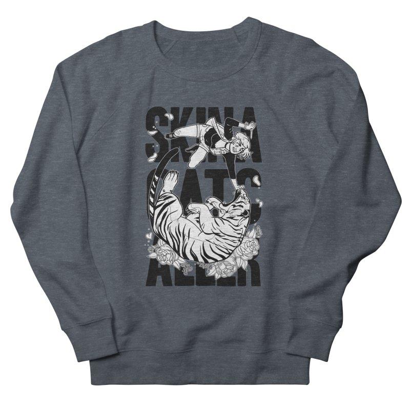 Skin a Catcaller (Black Text) Women's French Terry Sweatshirt by Mixtape Comics