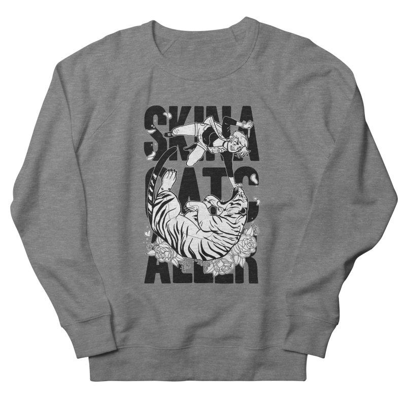 Skin a Catcaller (Black Text) Men's French Terry Sweatshirt by Mixtape Comics