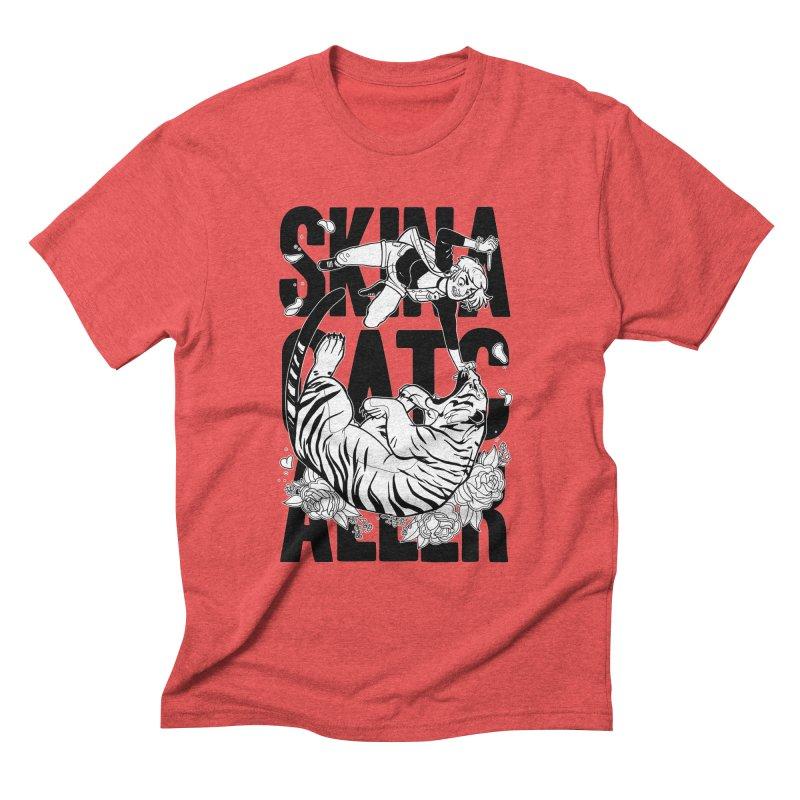 Skin a Catcaller (Black Text) Men's Triblend T-Shirt by Mixtape Comics